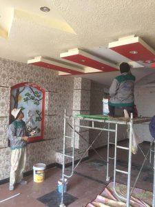 Hương Chiến cung cấp thợ sơn nhà chuyên nghiệp