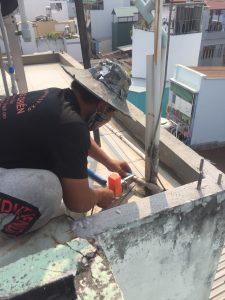Sửa đường nước nóng