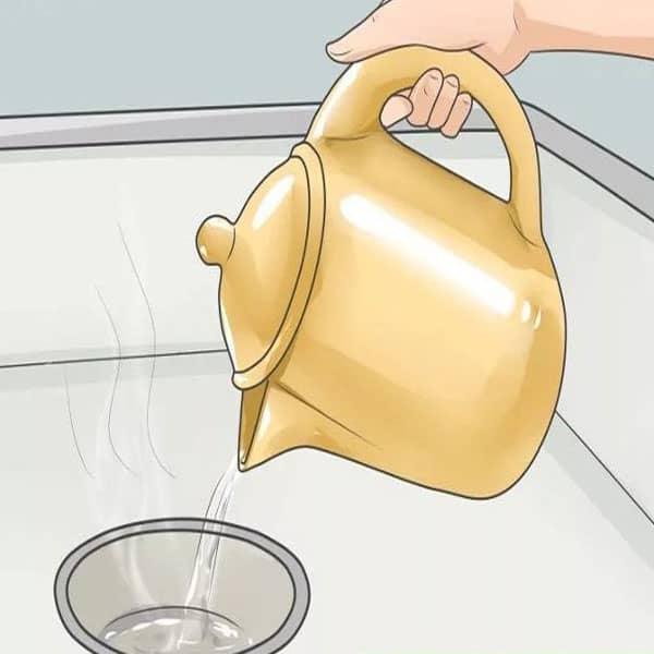 Nước nóng Thông tắc đường ống nước