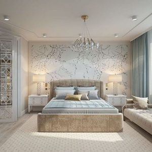 Gạch lát nền phòng ngủ đẹp