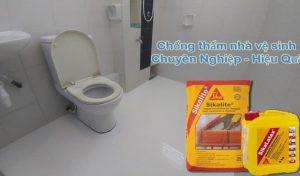 chống thấm nhà vệ sinh hoàn thiện
