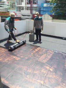 Chống thấm sàn bê tông Hương Chiến
