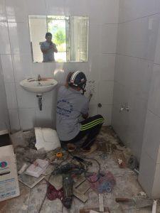 Sửa chữa lavabo Hương Chiến