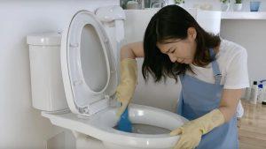 Cách xử lý bồn cầu hôi bằng việc vệ sinh