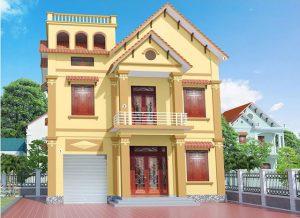 Màu sơn nhà đẹp bên ngoài cho gia chủ mệnh Kim